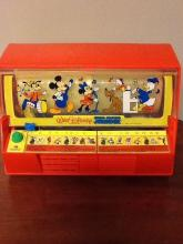 Disney Sing-Along Jukebox, Vintage Toy by Kenner
