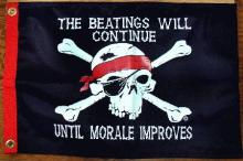 The Beatings will Continue until Morale Improves!