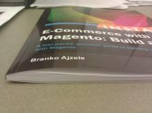 Magento book is so think with only 40 usable pages, and mostly screen shots!
