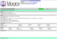 Screenshot of MagMI Magento Import utility