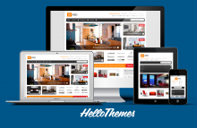 HelloWired Responsive Magento Theme with Front Page Slider from Hello Themes